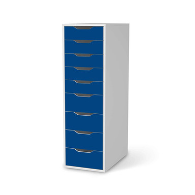Folie IKEA Alex 9 Schubladen - Blau Dark