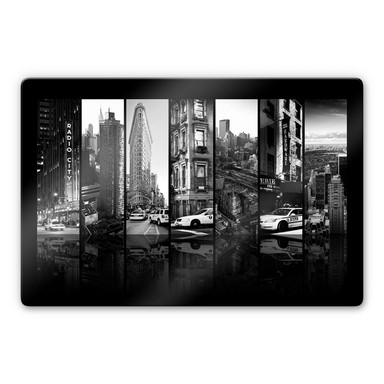 Glasbild Hugonnard - New York Scenes