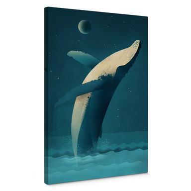Leinwandbild Braun - Humpback Whale