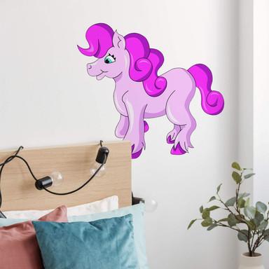 Wandsticker Pink Pony