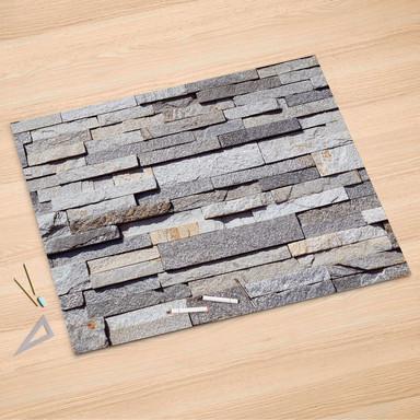 Folienbogen (150x100cm) - Granit-Wand