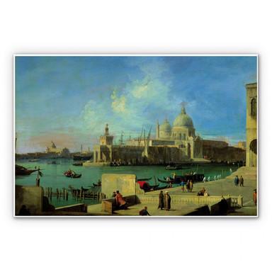 Hartschaumbild Canaletto - Santa Maria della Salute