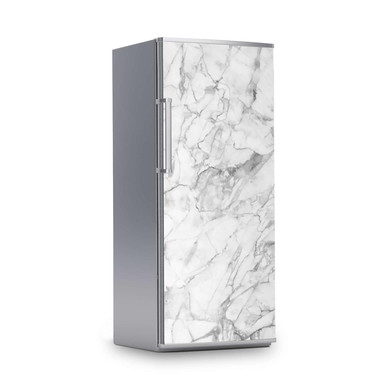 Kühlschrankfolie 60x150cm - Marmor weiss- Bild 1