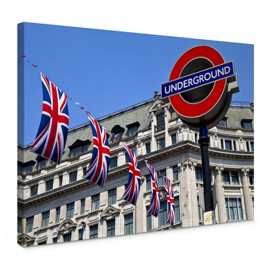 Leinwandbild London Underground