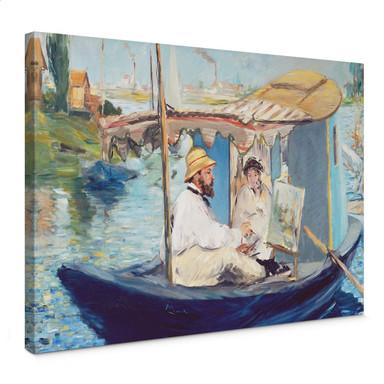 Leinwandbild Manet - Die Barke