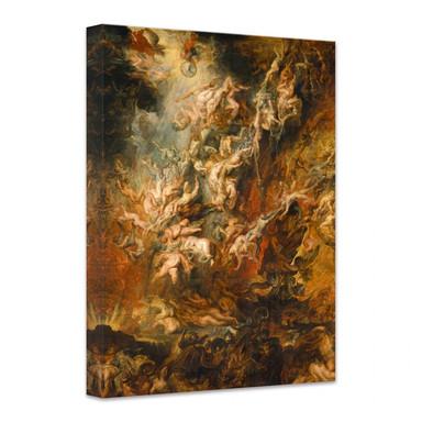 Leinwandbild Rubens - Der Höllensturz der Verdammten