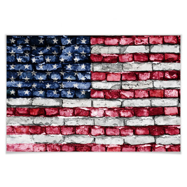 Poster Stars and Stripes