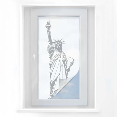 Sichtschutzfolie American Statue