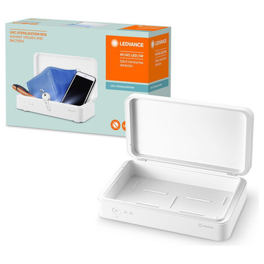 UV-C LED Desinfektionsbox akkubetrieben
