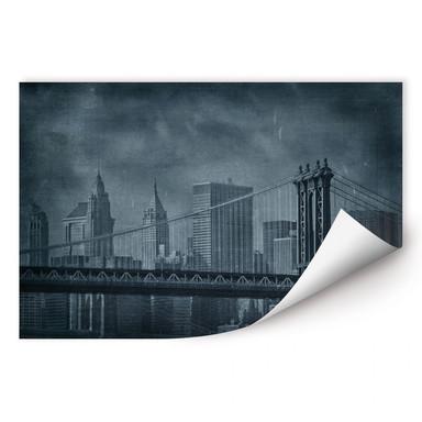 Wallprint New York Bridge