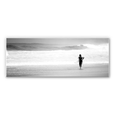 Wandbild Surfing