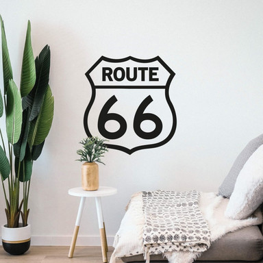 Wandtattoo Route 66