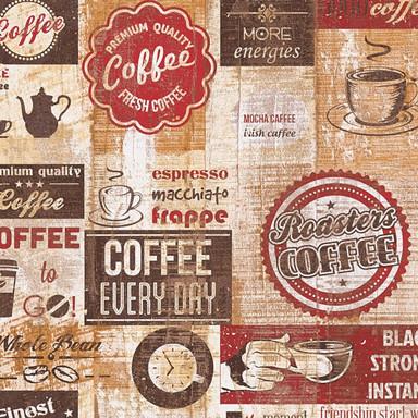 A.S. Création Papiertapete il Decoro Tapete Kaffee beige, braun, rot