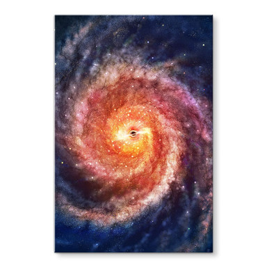 Acrylglasbild Aerroscape - Schwarzes Loch
