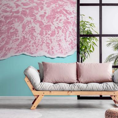 Fototapete Fuentes - Pink Sea - 192x260cm - Bild 1