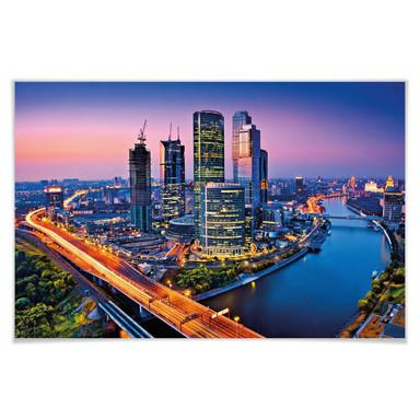 Giant Art® XXL-Poster Moscow Twilight - 175x115cm