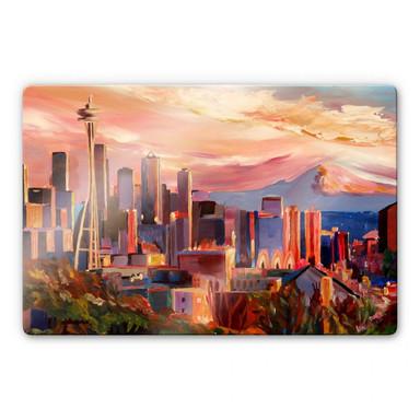 Glasbild Bleichner - Seattle