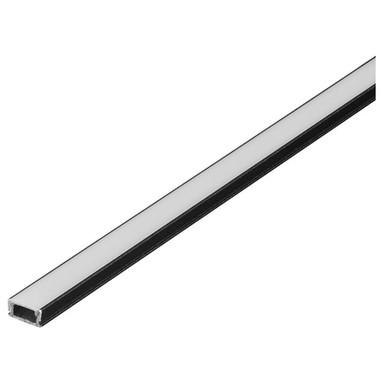 Glenos Profi-Profil 1107-100. schwarz-matt, 1m