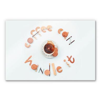 Acrylglasbild Belenko - coffee can handle it