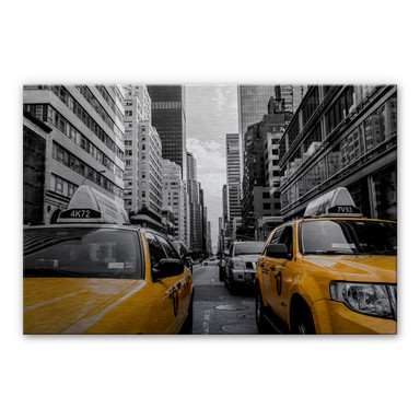 Alu-Dibond Bild Streets in New York City