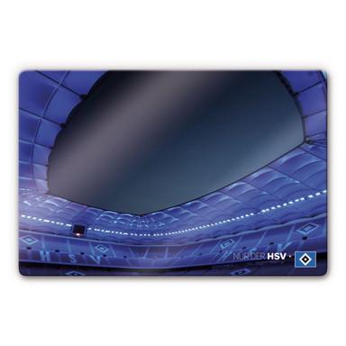 Glasbild HSV Imtech Arena 6