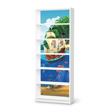 Klebefolie IKEA Billy Regal 6 Fächer - Pirates- Bild 1