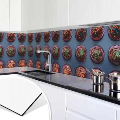Küchenrückwand - Alu-Dibond - Birthday Muffins