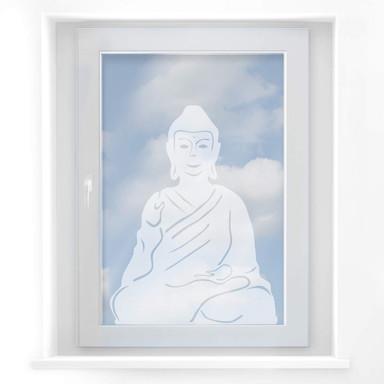 Milchglasfolie Buddha