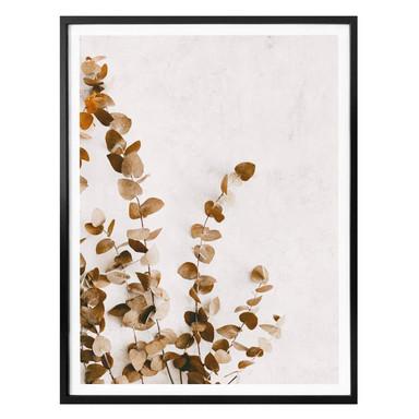 Poster Annie - Getrocknete Blätter