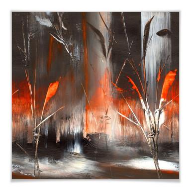 Poster Niksic - Feuer und Asche