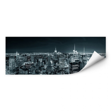 Wallprint New York at Night 2 Panorama