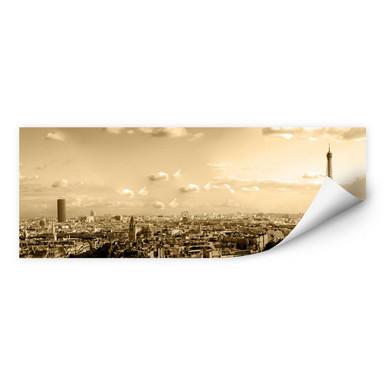 Wallprint Paris Skyline