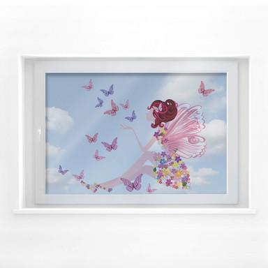Fensterbild Petunia Wunderpracht