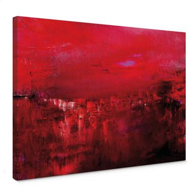Leinwandbild Niksic - Morgendämmerung