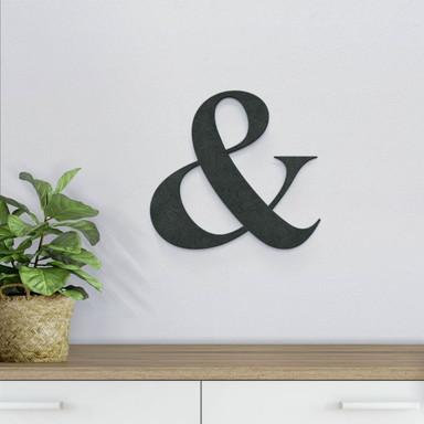 MDF-Holzbuchstaben Et-Zeichen