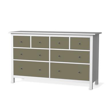 Möbelfolie IKEA Hemnes Kommode 8 Schubladen - Braungrau Light
