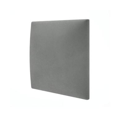 Polsterpaneel Mollis grau 30x30cm