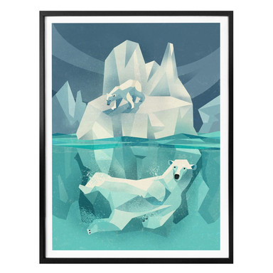 Poster Braun - Polar Bear