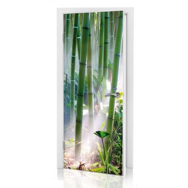 Türdeko Bambus Wald - Bild 1