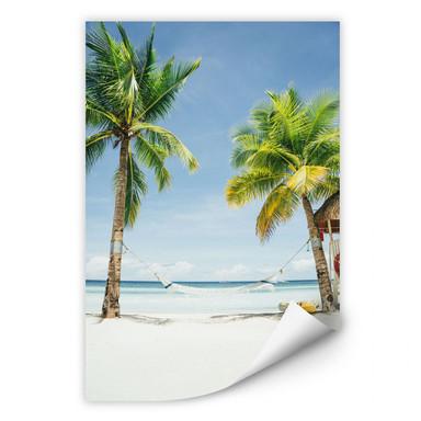 Wallprint - Hammock in Paradise