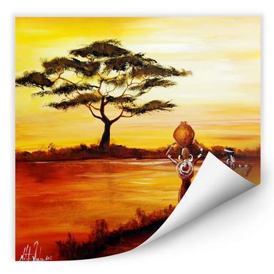 Wallprint Fedrau - Afrika