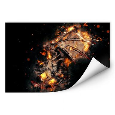 Wallprint Fireflight