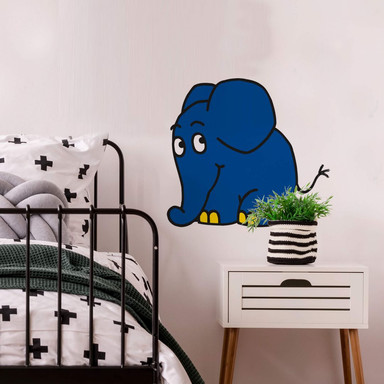 Wandsticker Elefant 05