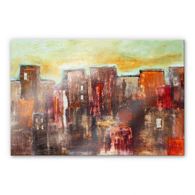 Acrylglasbild Melz - Citylife