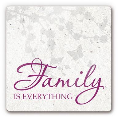 Glasbild Family is everything