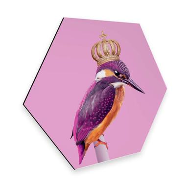 Hexagon - Alu-Dibond Loose - Queenfisher