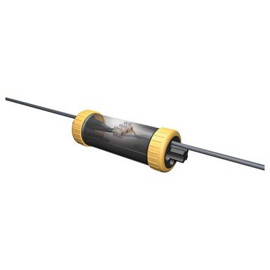 Kabelsystem Dosenmuffe Gesis für Kabelverbindung in Schwarz IP68