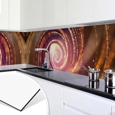 Küchenrückwand - Lichteffekt 04 -Panorama