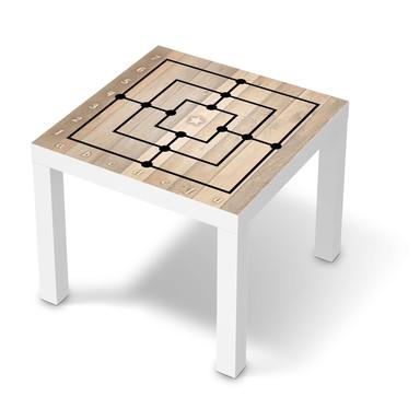 Möbelfolie IKEA Lack Tisch 55x55cm - Spieltisch Mühle