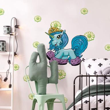 Wandsticker Filly Unicorn Friendship Karkadan